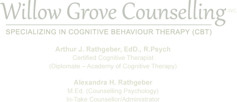 Willow Grove Counselling, Inc. - Specializing in Cognitive Behaviour Therapy (CBT)